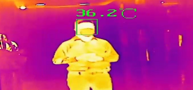 Fever Screening Thermal Cameras