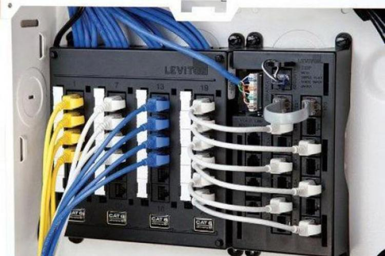 Network Panel Termination Block
